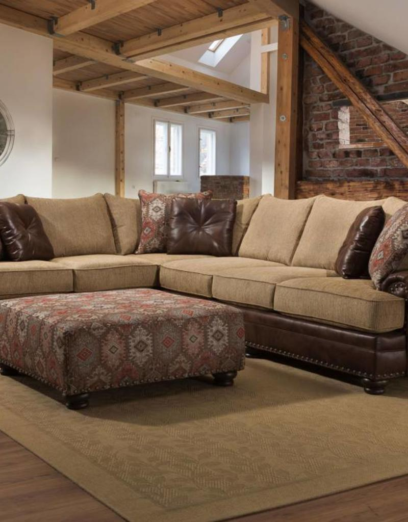 Albany Industry Sublime Treasure 2pc Sectional