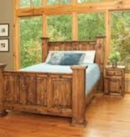 CLS Rustic Indian Queen Bed