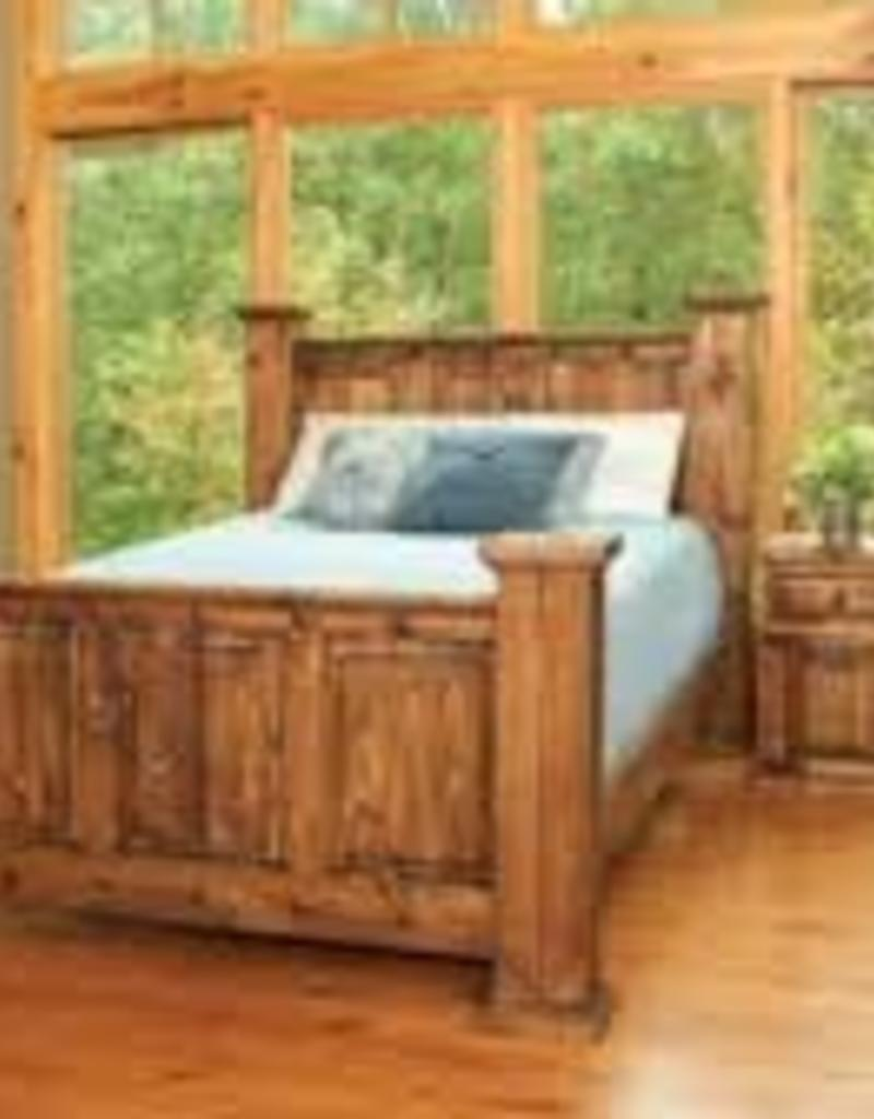 CLS Rustic Indian Queen Bed