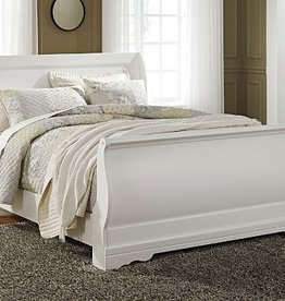 MYCO LP200 White Full Sleigh Bed