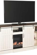 CLS Cabaret White TV Stand