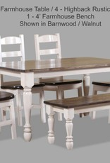 A&H Barnwood Table
