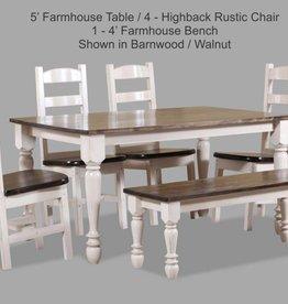 A&H Barnwood Table