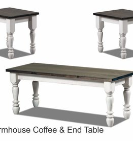 A&H Farmhouse End Table