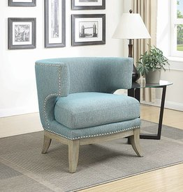 Coaster Blue Accent Chair