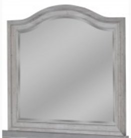 American Woodcrafters Stonebrook Grey Mirror