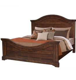 American Woodcrafters Stonebrook Cherry King Bed