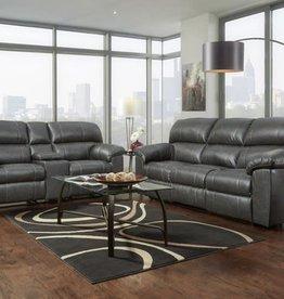 Affordable Furniture Stallion Charcoal Motion Sofa
