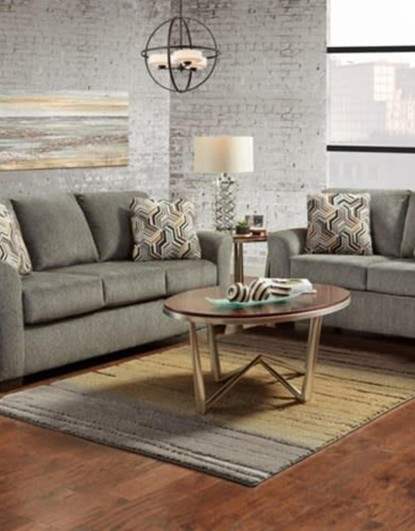 Affordable Furniture Allure Grey Sofa