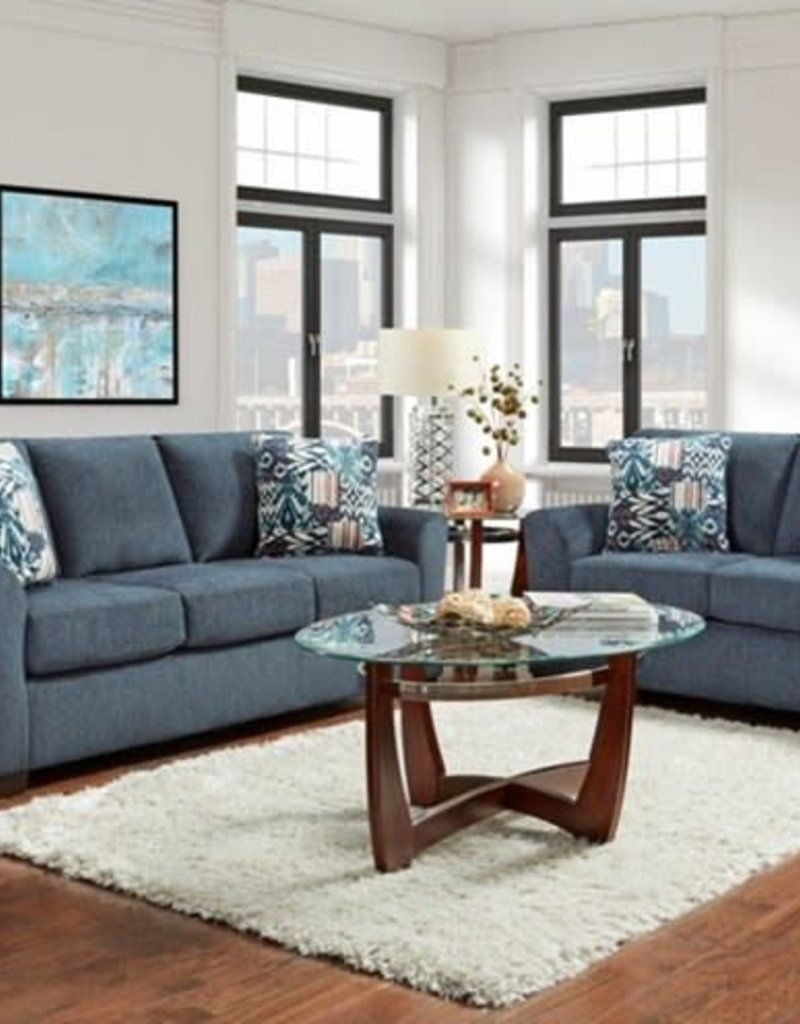 Affordable Furniture Allure Navy Love