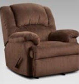 Affordable Furniture Aspen Chocolate Recliner