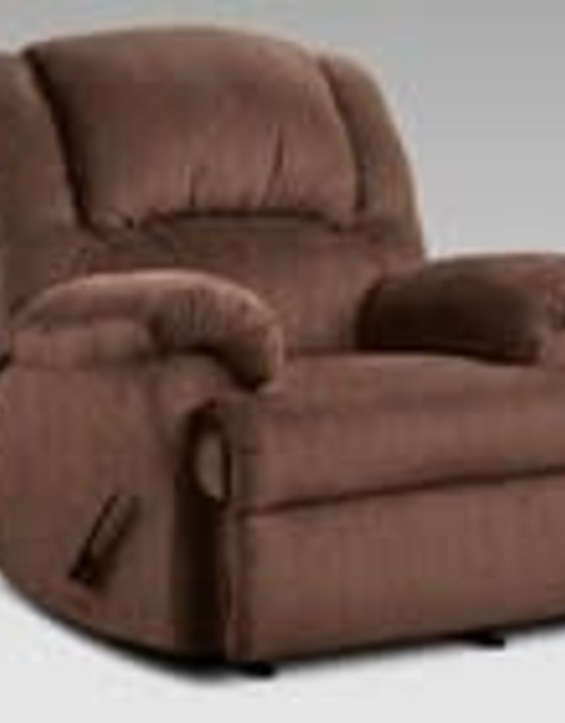 Affordable Furniture Aspen Chocolate Recliner