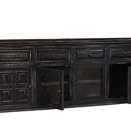 "MYCO Charleston Black 70"" TV Stand"