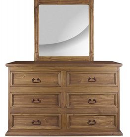 MYCO Primo Natural Dresser with Mirror