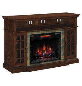 TwinStar Lakeland Oak Fireplace