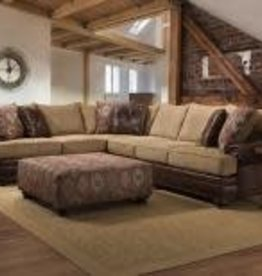 Albany Industry Yellowstone Chocolate 2pc Sectional
