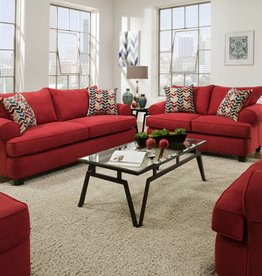 American Furniture Nattee Lipstick Sofa Love