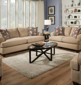 American Furniture Nattee Sand Sofa Love