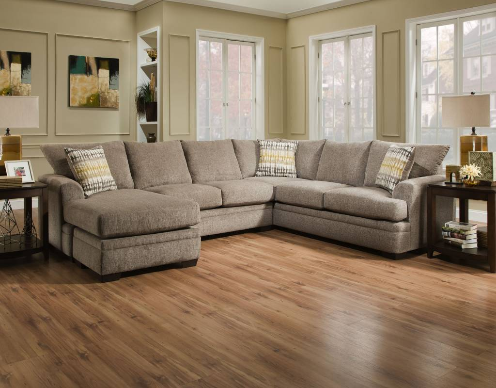 Perth Pewter 2pc Sectional