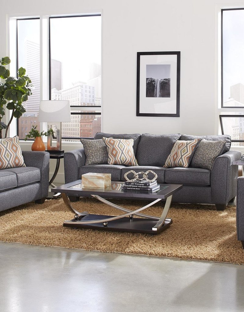 Albany Industry Crypton Graphite Sofa