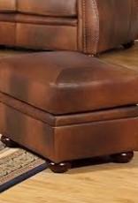 Leather Italian Arizona Ottoman