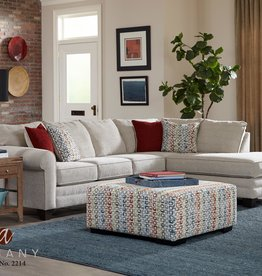 Albany Industry Griffen 2pc Sectional