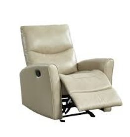 Leather Italian Abby Manual Recliner