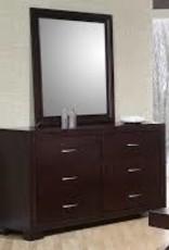 Elements Raven Dresser with Mirror