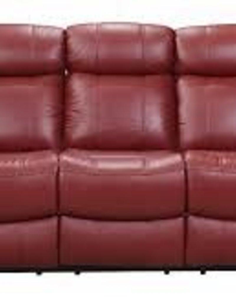 Joplin Power Red Sofa - R&B Furniture