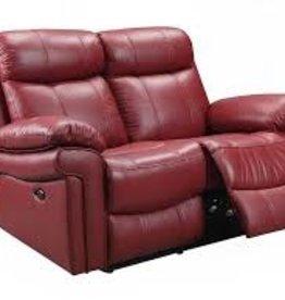 Leather Italian Jopline Power Red Love