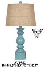 Crestview Blue Lamp