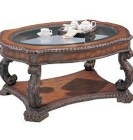 Coaster Antique Brown Coffee Table