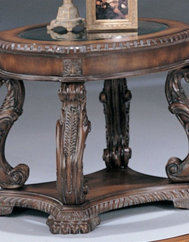 Coaster Antique Brown End Table