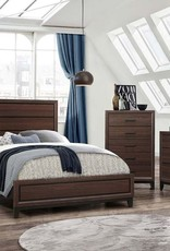MYCO Shiloh Walnut Q Bed DMCN