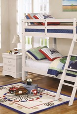 MYCO Ryder Twin Twin White Bunk