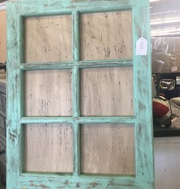 Mexican Decor 6 Pane Window