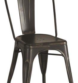 Coaster Black Metal Dining Chair