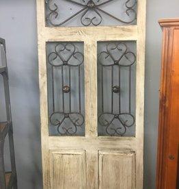 Mexican Decor Wood Door: Open