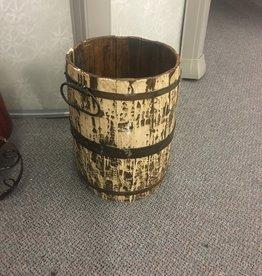 Mexican Decor Tall Wood Barrel