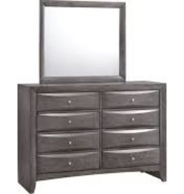 Elements Emily Dresser w/ Mirror: Grey