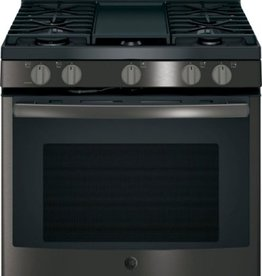 GE GE Convection Black Stainless Steel Stove