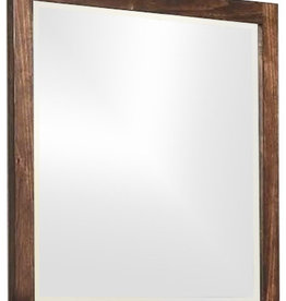 Coaster Rustic Oak Mirror