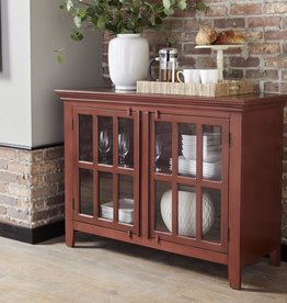 Kith Furniture Red 2Door Console
