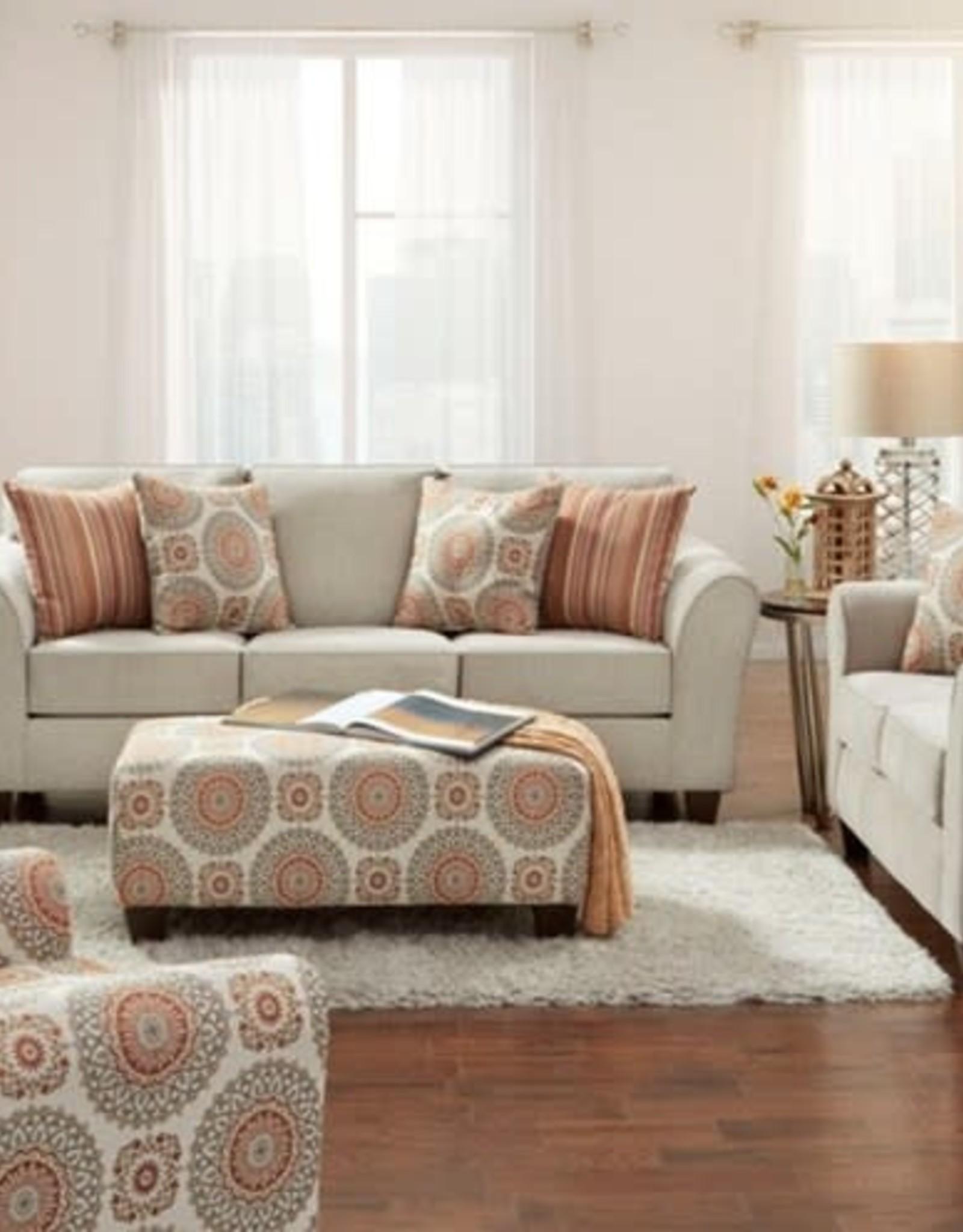 Affordable Furniture Bennington Taupe Love