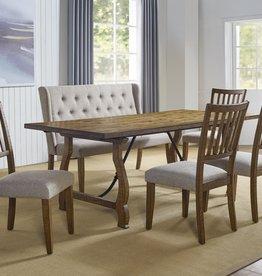 Steve Silver Yuma Table Bench 4 Chair
