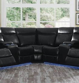 Steve Silver Levin 4pc Power Reclining Sectional