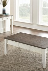 Steve Silver Cayla Cocktail Table Dark Oak