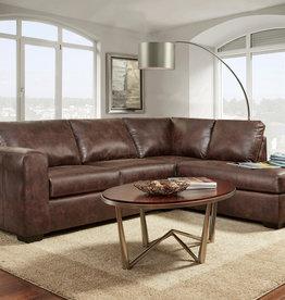 Washington Furniture Yuma Chocolate Sectional