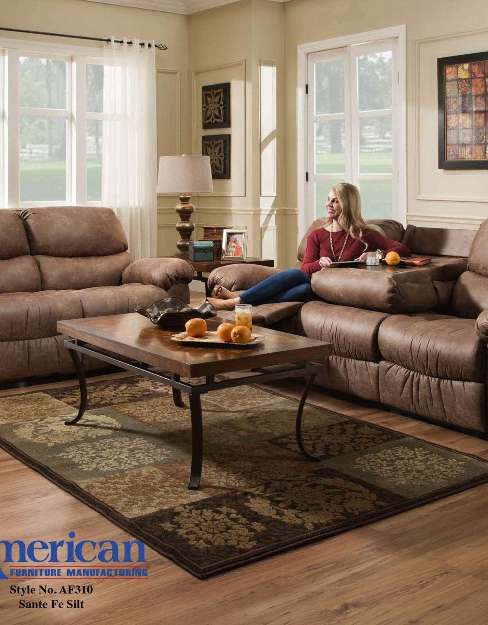 American Furniture Santa Fe Silt Motion Sofa W Ddt R B Furniture