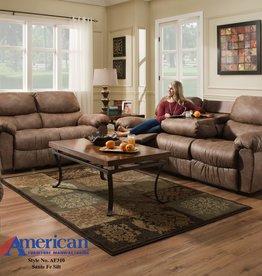 American Furniture Santa Fe Silt Motion Sofa w/DDT